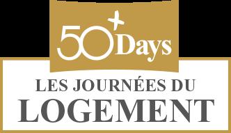 50+ days logement